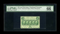 Fractional Currency:First Issue, Fr. 1311 50¢ First Issue PMG Gem Uncirculated 66 EPQ. This is aFriedberg number that we have not often seen in Gem grade. I...