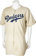 Baseball Collectibles:Uniforms, 1941 Brooklyn Dodgers Complete Game Worn Uniform....