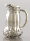 Silver Holloware, American:Pitchers, AN AMERICAN SILVER PITCHER. George W. Shiebler & Co., New York, New York, circa 1900. Marks: (winged S), STERLING, 1710...