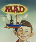 Original Comic Art:Covers, Bob Clarke. The Worst From Mad #8 Cover Painting OriginalArt (EC, 1965).. ...