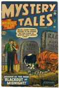 Golden Age (1938-1955):Horror, Mystery Tales #5 (Atlas, 1952) Condition: FN+....