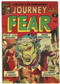 Golden Age (1938-1955):Horror, Journey Into Fear #8 (Superior, 1952) Condition: FN/VF....