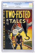 Golden Age (1938-1955):War, Two-Fisted Tales #18 (EC, 1950) CGC FN+ 6.5 Cream to off-whitepages....