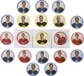 Hockey Collectibles:Others, 1968-69 Shirriff Coins Group Lot of 70 with 20 Short Prints....