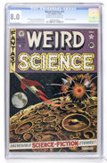 Golden Age (1938-1955):Science Fiction, Weird Science #11 (EC, 1952) CGC VF 8.0 Cream to off-whitepages....