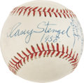 Autographs:Baseballs, 1958 Casey Stengel Single Signed Baseball....