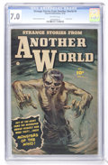Golden Age (1938-1955):Horror, Strange Stories from Another World #4 (Fawcett, 1952) CGC FN/VF 7.0Off-white pages....
