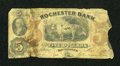 Obsoletes By State:New Hampshire, Rochester, NH- Rochester Bank $5 Nov. 1, 1862. ...