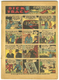 Platinum Age (1897-1937):Miscellaneous, Popular Comics #12 (Dell, 1937) Coverless Copy....