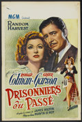 """Movie Posters:Drama, Random Harvest (MGM, Late 1940s). Belgian (14.5"""" X 21.5"""") First Post-War Release. Drama...."""