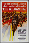 "Movie Posters:Action, The Wild Angels (American International, 1966). One Sheet (27"" X41""). Action...."