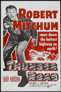 """Movie Posters:Crime, Thunder Road (United Artists, R-1962). One Sheet (27"""" X 41"""").Crime...."""