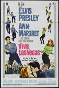 "Movie Posters:Elvis Presley, Viva Las Vegas (MGM, 1964). One Sheet (27"" X 41""). ElvisPresley...."