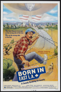 "Born in East L.A. (Universal, 1987). One Sheet (27"" X 41""). Comedy"