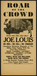 """Movie Posters:Sports, Roar of the Crowd Lot (Norman, 1953). Heralds (2) (6"""" X 12.5""""). Sports.... (Total: 2 Items)"""