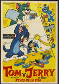 "Movie Posters:Animated, Tom and Jerry Stock (MGM, 1950s). Argentinean Poster (29"" X 42"").Animated...."