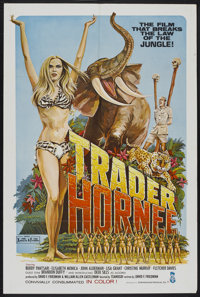 "Trader Hornee (Entertainment Ventures, Inc., 1970). One Sheet (27"" X 41""). Adult"