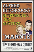 "Movie Posters:Hitchcock, Marnie (Universal, 1964). One Sheet (27"" X 41""). Hitchcock...."