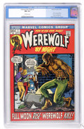 Bronze Age (1970-1979):Horror, Werewolf by Night #1 (Marvel, 1972) CGC NM 9.4 Off-white pages....