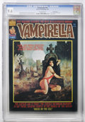 Magazines:Horror, Vampirella #41 Pacific Coast pedigree (Warren, 1975) CGC NM+ 9.6 Off-white pages....