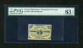 Fractional Currency:Third Issue, Fr. 1226 3c Third Issue PMG Choice Uncirculated 63 EPQ....