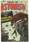 Silver Age (1956-1969):Mystery, Tales to Astonish #22 (Marvel, 1961) Condition: FN+....