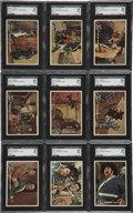 "Non-Sport Cards:General, 1958 Topps ""Zorro"" SGC-Graded Collection (45)...."