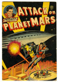 Golden Age (1938-1955):Science Fiction, Attack on Planet Mars #nn (Avon, 1951) Condition: VG/FN....