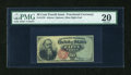 Fractional Currency:Fourth Issue, Fr. 1376 50c Fourth Issue Stanton PMG Very Fine 20....