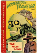 Golden Age (1938-1955):Horror, Mysterious Traveler Comics #1 (Trans World, 1948) Condition:VG-....