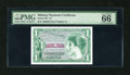 Military Payment Certificates:Series 651, Series 651 $1 PMG Gem Uncirculated 66 EPQ....