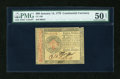 Colonial Notes:Continental Congress Issues, Continental Currency January 14, 1779 $80 PMG About Uncirculated 50Net....