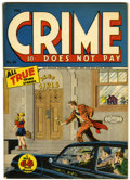 Golden Age (1938-1955):Crime, Crime Does Not Pay #46 (Lev Gleason, 1946) Condition: VF-....
