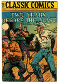Golden Age (1938-1955):Adventure, Classic Comics #25 Two Years Before the Mast - Second Edition (Gilberton, 1945) Condition: FN/VF....