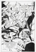 Original Comic Art:Splash Pages, Joe Staton and Steve Mitchell Prime Splash page 1 OriginalArt (1995)....