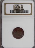 Indian Cents: , 1890 1C MS64 Red and Brown NGC. NGC Census: (168/70). PCGSPopulation (141/23). Mintage: 57,182,856. Numismedia Wsl. Price ...