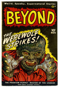Golden Age (1938-1955):Horror, The Beyond #1 (Ace, 1950) Condition: FN....