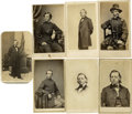 Military & Patriotic:Civil War, Grouping of Eight Federal Images,... (Total: 8 Items)