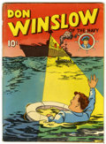 Golden Age (1938-1955):Adventure, Four Color (Series One) #nn (#2) Don Winslow of the Navy (Dell, 1939) Condition: GD/VG....