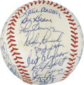 Autographs:Baseballs, 1987 Minnesota Twins World Champion Team Signed Baseball....