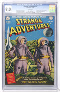 Golden Age (1938-1955):Science Fiction, Strange Adventures #1 (DC, 1950) CGC VF/NM 9.0 White pages....