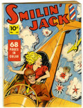 Golden Age (1938-1955):Adventure, Four Color (Series One) #10 Smilin' Jack (Dell, 1940) Condition: GD/VG....
