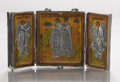 Other, TRIPTYCH. 19th century. ...