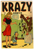 Golden Age (1938-1955):Funny Animal, Krazy Komics #2 (Timely, 1942) Condition: FN+....