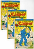 Bronze Age (1970-1979):Cartoon Character, Friendly Ghost Casper #185 Multiple Copies Group (Harvey, 1976)Condition: Average VF....