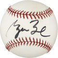 Autographs:Baseballs, George W. Bush Single Singed Baseball....
