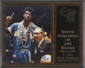 Basketball Collectibles:Photos, Kareem Abdul-Jabbar and John Wooden Dual-Signed Photograph. ...