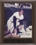 Autographs:Photos, Willie Mays Signed Photograph....