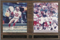 Football Collectibles:Photos, NFL Greatest Quarterbacks Signed Photographs Lot of 2....