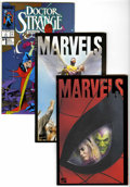 Modern Age (1980-Present):Miscellaneous, Marvel Modern Age Box Lot (Marvel, 1980s-'90s) Condition: Average NM-....